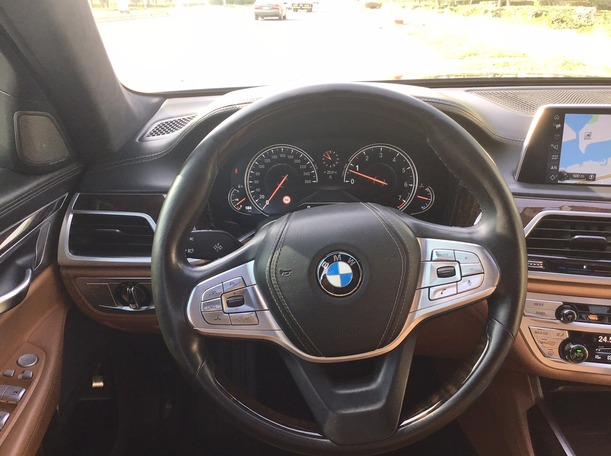 Used 2016 BMW 740 for sale in abudhabi
