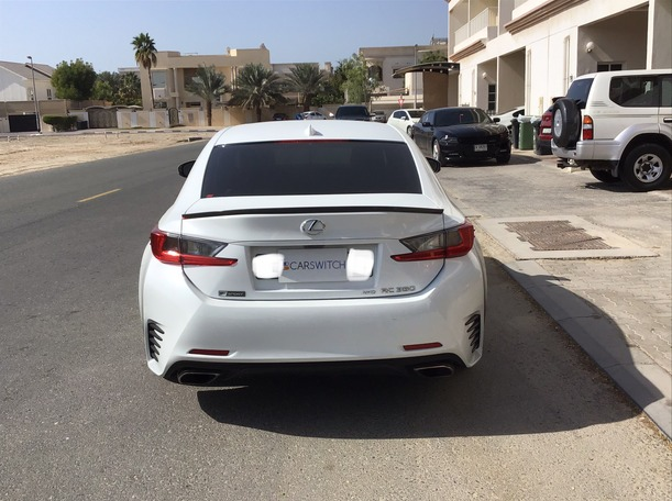 Used 2015 Lexus RC350 for sale in dubai