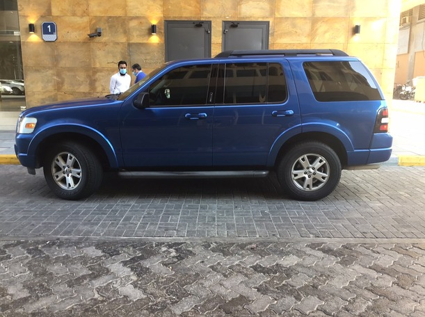 Used 2010 Ford Explorer for sale in abudhabi