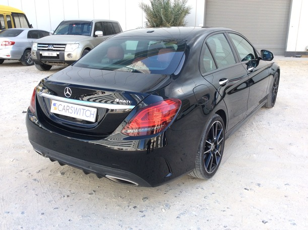 Used 2019 Mercedes C300 for sale in dubai