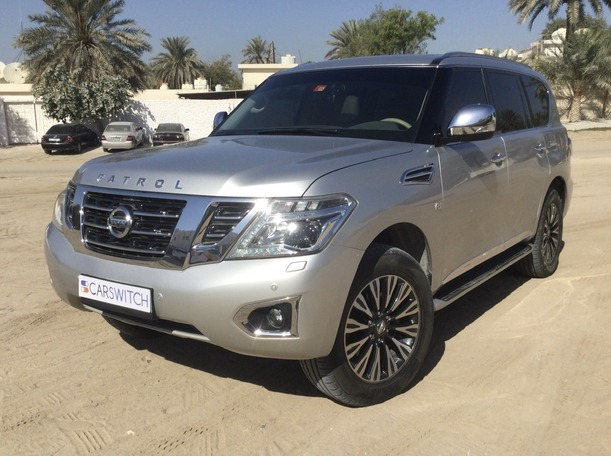 Used 2017 Nissan Patrol for sale in dubai