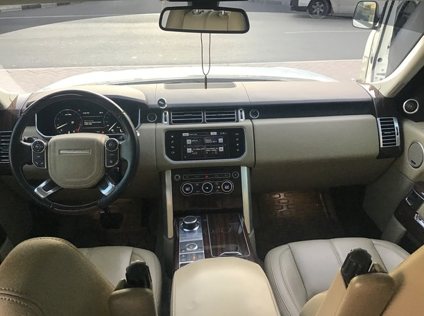 Used 2016 Range Rover HSE for sale in dubai