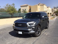 Used 2020 Infiniti QX80 for sale in dubai