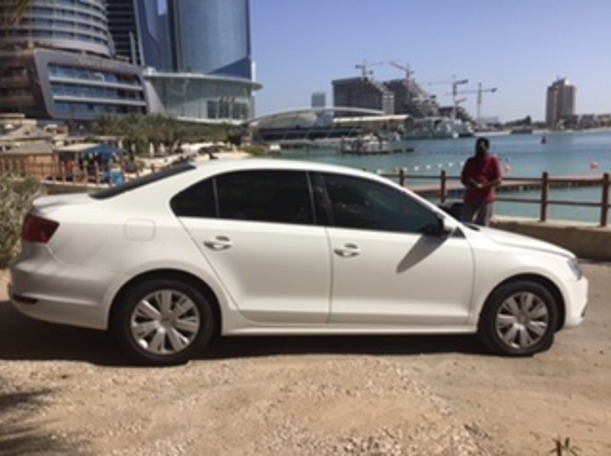 Used 2014 Volkswagen Jetta for sale in abudhabi