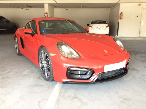 Used 2015 Porsche Cayman GTS for sale in dubai
