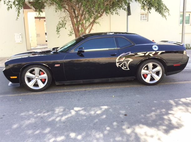 Used 2012 Dodge Challenger for sale in dubai