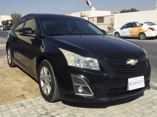 Used 2014 Chevrolet Cruze for sale in sharjah