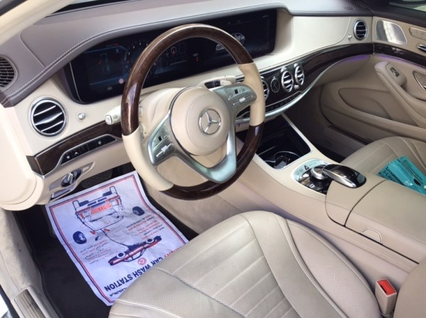 Used 2018 Mercedes S560 for sale in abudhabi