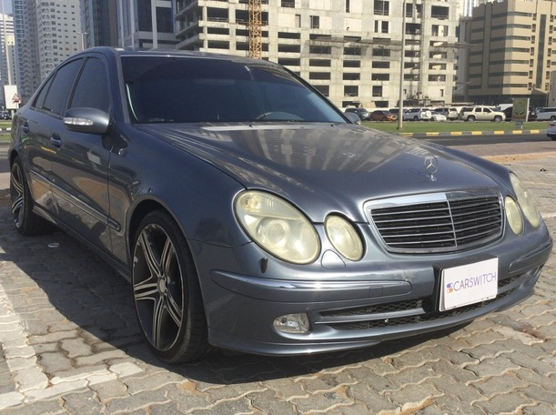 Used 2004 Mercedes E500 for sale in sharjah