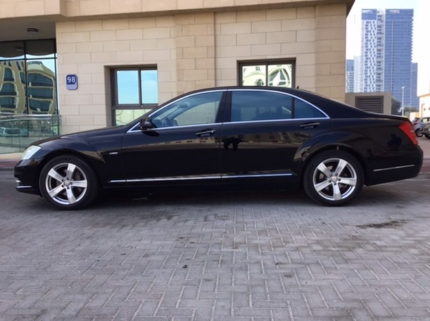 Used 2010 Mercedes S400 for sale in abudhabi