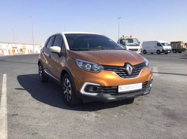 Used 2019 Renault Captur for sale in abudhabi