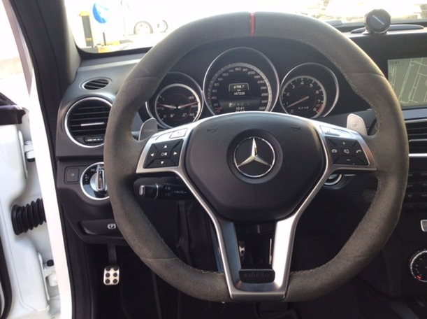 Used 2015 Mercedes C63 AMG for sale in abudhabi