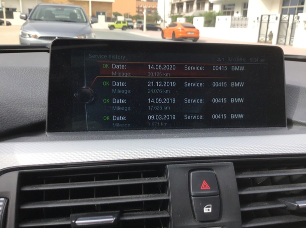 Used 2017 BMW 340 for sale in dubai