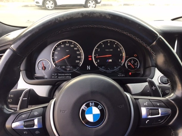 Used 2014 BMW M5 for sale in abudhabi