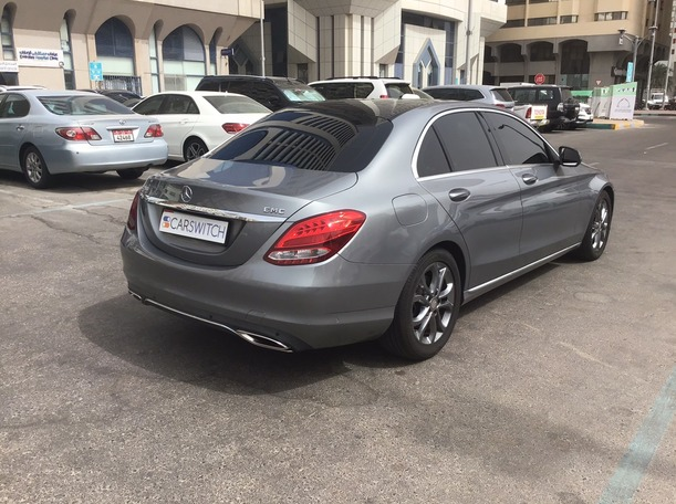 Used 2016 Mercedes C200 for sale in abudhabi