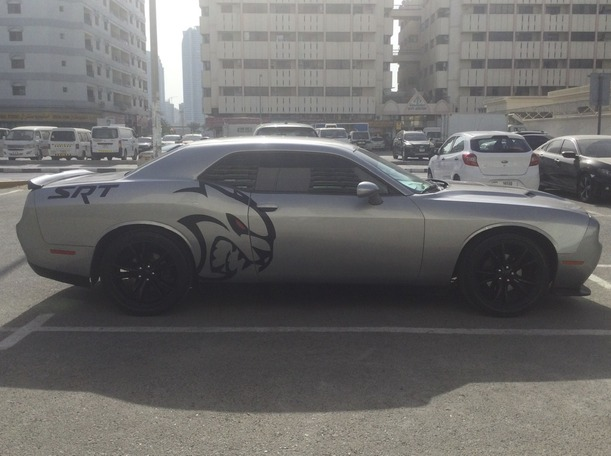 Used 2016 Dodge Challenger for sale in sharjah