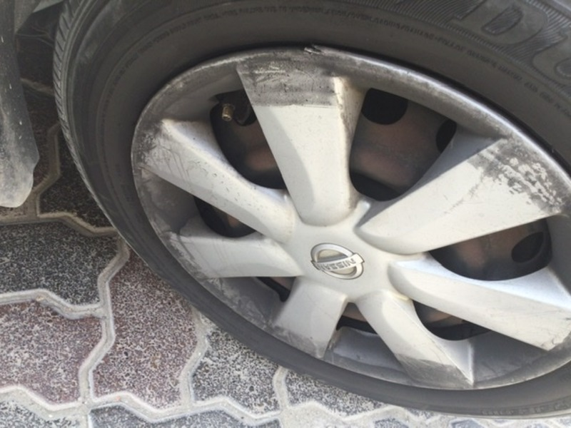 Used 2013 Nissan Sunny for sale in sharjah