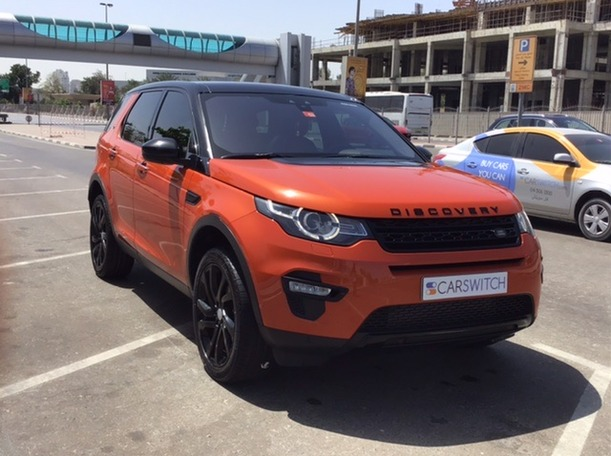 Used 2016 Land Rover Discovery Sport for sale in dubai