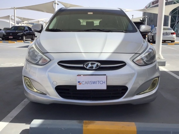Used 2017 Hyundai Accent for sale in abudhabi