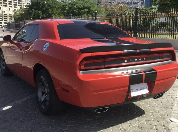 Used 2014 Dodge Challenger for sale in sharjah