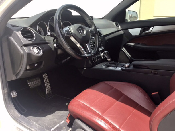 Used 2015 Mercedes C250 for sale in abudhabi