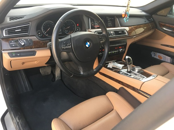 Used 2015 BMW 740 for sale in dubai