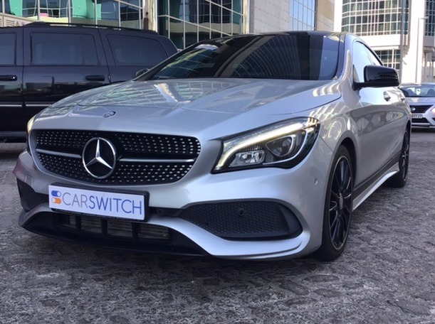 Used 2017 Mercedes CLA250 for sale in abudhabi