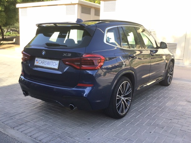 Used 2018 BMW X3 for sale in dubai