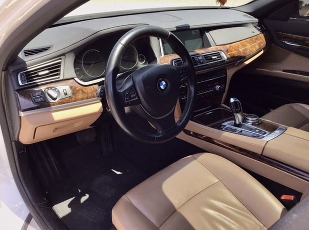 Used 2014 BMW 730 for sale in abudhabi
