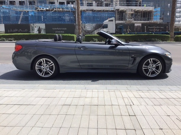 Used 2015 BMW 420 for sale in dubai