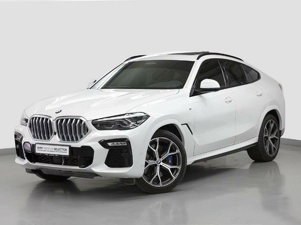 Used 2020 BMW X6 for sale in dubai