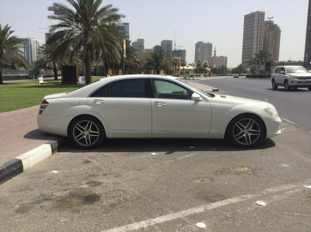 Used 2009 Mercedes S350 for sale in dubai