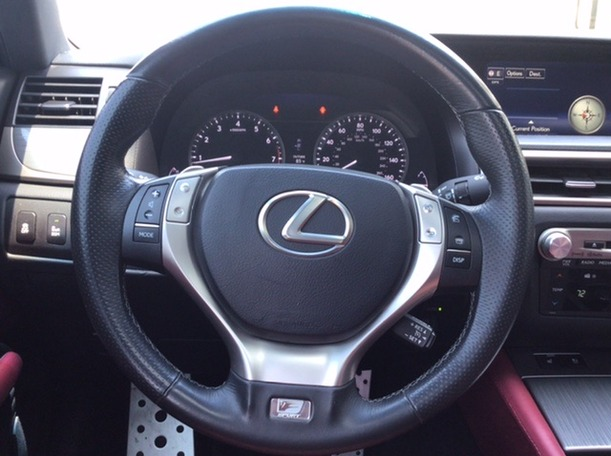 Used 2015 Lexus GS350 for sale in abudhabi