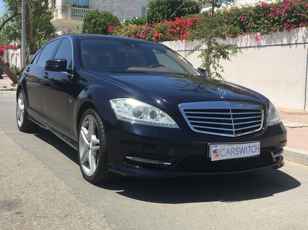 Used 2012 Mercedes S500 for sale in dubai