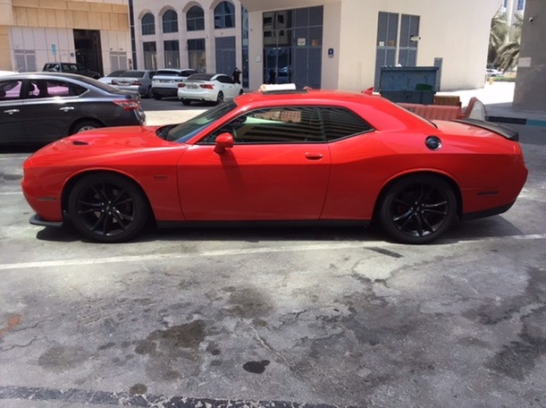 Used 2018 Dodge Challenger for sale in abudhabi