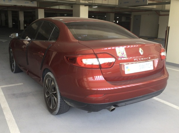 Used 2016 Renault Fluence for sale in sharjah