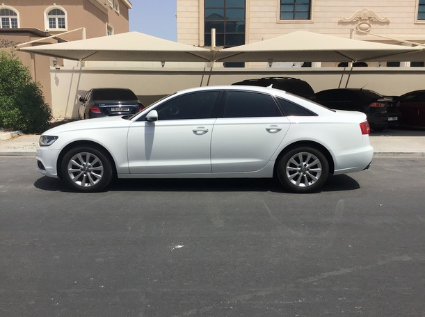 Used 2014 Audi A6 for sale in abudhabi