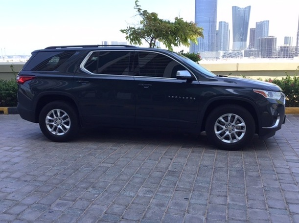 Used 2019 Chevrolet Traverse for sale in abudhabi