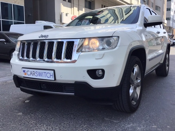 Used 2012 Jeep Grand Cherokee for sale in abudhabi