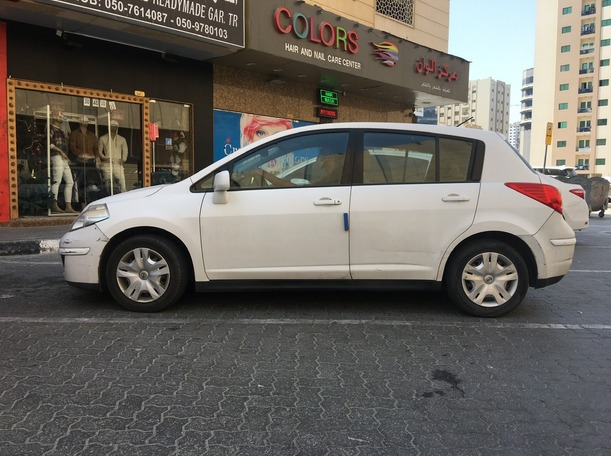 Used 2012 Nissan Tiida for sale in sharjah