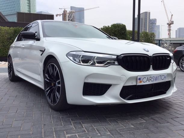 Used 2019 BMW M5 for sale in abudhabi