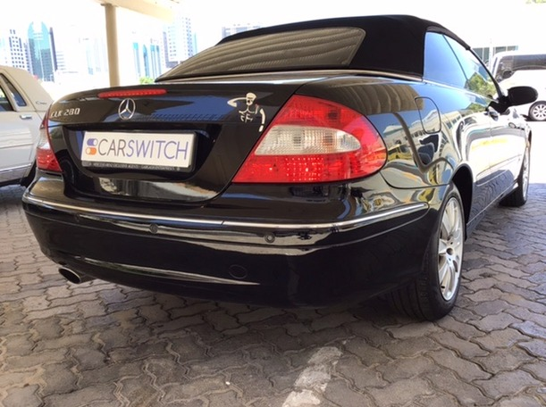 Used 2008 Mercedes CLK280 for sale in abudhabi