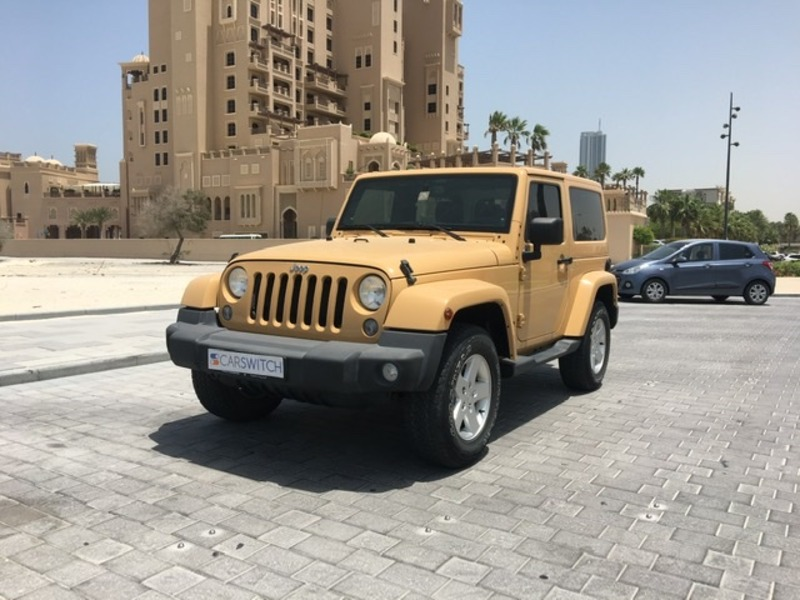 Used 2014 Jeep Wrangler for sale in sharjah