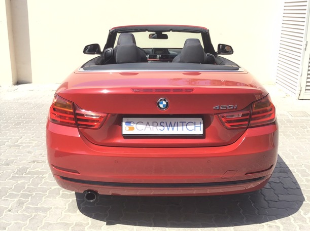 Used 2016 BMW 420 for sale in dubai