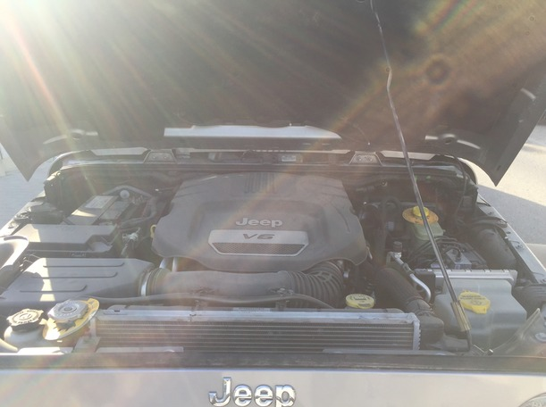 Used 2016 Jeep Wrangler for sale in sharjah