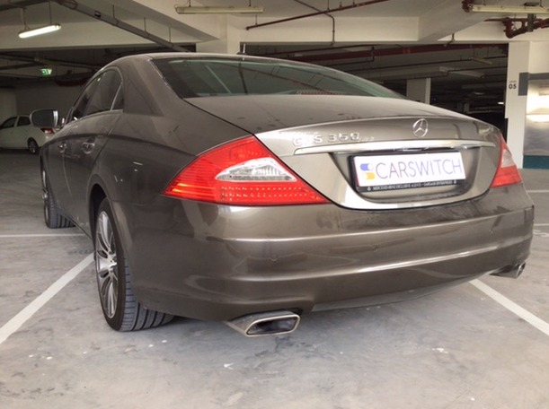 Used 2009 Mercedes CLS350 for sale in abudhabi