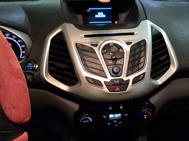 Used 2017 Ford EcoSport for sale in abudhabi