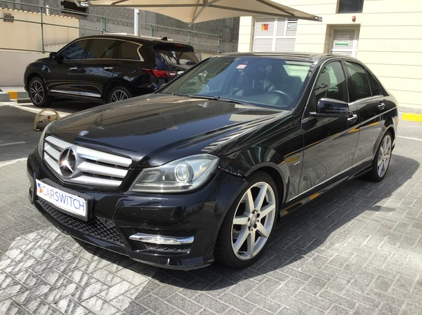 Used 2013 Mercedes C200 for sale in abudhabi