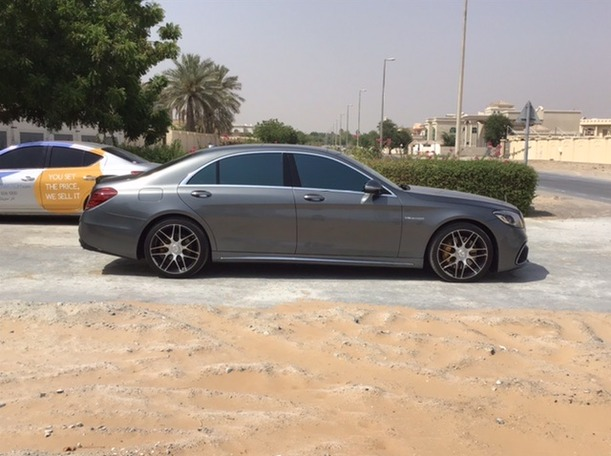 Used 2017 Mercedes S550 for sale in sharjah