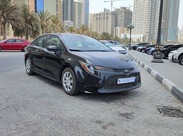 Used 2020 Toyota Corolla for sale in sharjah